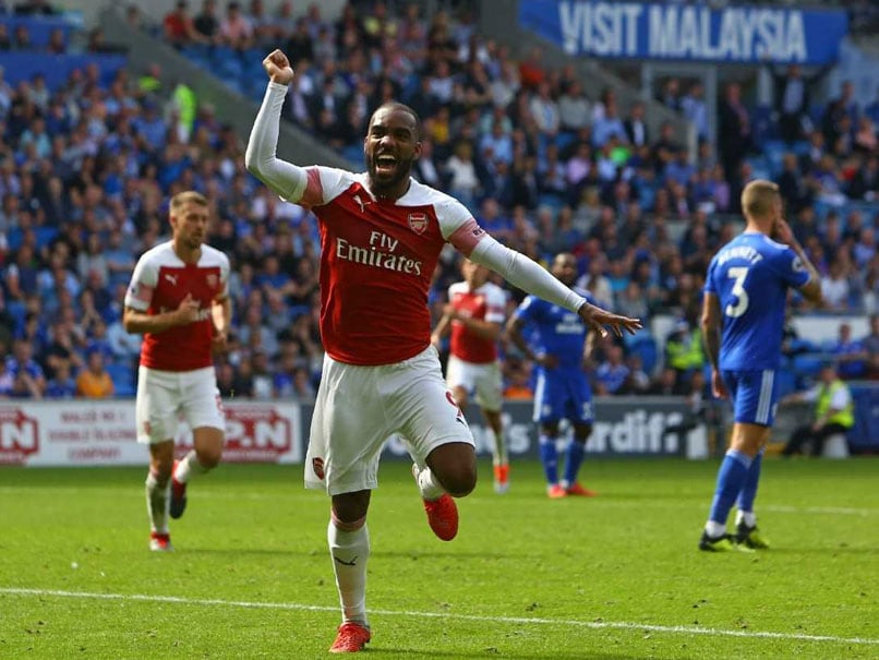 Premier League: Lacazette Lifts Emery As Arsenal Subdue Gritty Cardiff
