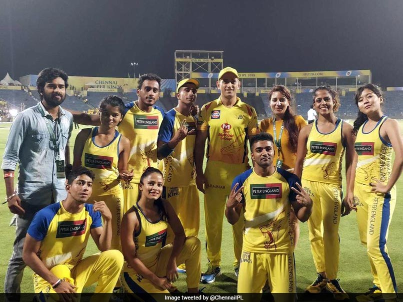 IPL: Playoffs Sealed, MS Dhoni, Suresh Raina, Shane Watson Spend Time With Cheer Group