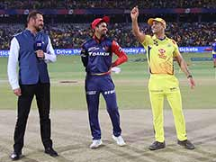 IPL 2018: MS Dhoni Bursts Into Laughter During Toss At Ferozshah Kotla. Here