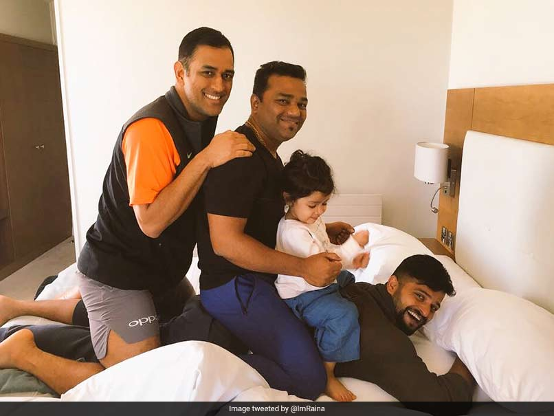 MS Dhoni Turns 37, Suresh Raina Celebrates Indias Blessed Day With An Adorable Post