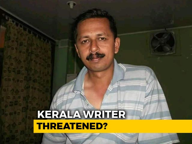 "Video : Kerala Author Pulls Back Novel Following Alleged Right Wing ""Threat"""