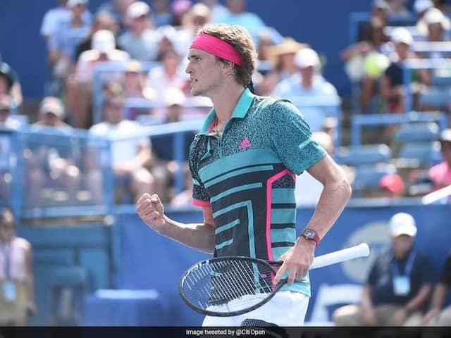 Alexander Zverev Beats Alex De Minaur To Defend ATP Washington Open Crown