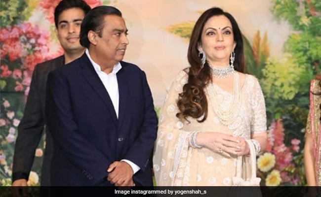 Mukesh Ambani Among 100 CEOs From India To Attend Davos Summit