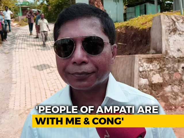 Video : On Meghalaya Bypoll Day, Mukul Sangma's 'Ad Hoc' Jibe At Chief Minister