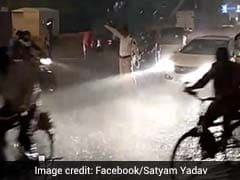 Social Media Salutes Mumbai Cop Who Stood In The Rain To Manage Traffic
