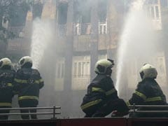 Major Fire In South Mumbai's Scindia House Office Building Near Fort
