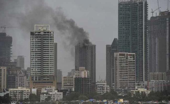 At Least 90 People Evacuated From Mumbai Skyscraper On Fire