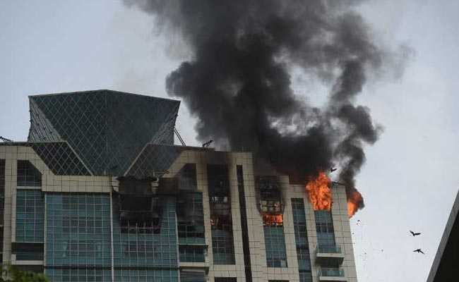 Fire On Top Floor Of High Rise In Mumbais Prabha Devi Deepika Padukone Among Residents