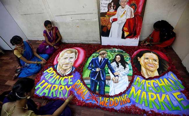 mumbai painting prince harry meghan markle reuters