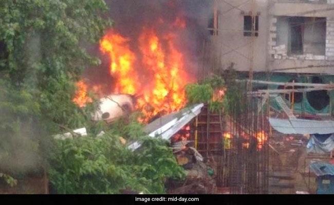mumbai plane crash (mid day)