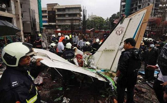 Heard Loud Explosion, Saw A Burning Body, Says Mumbai Plane Crash Witness