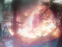 """A Ball Of Fire"": New CCTV Video Shows Mumbai Plane Explode"