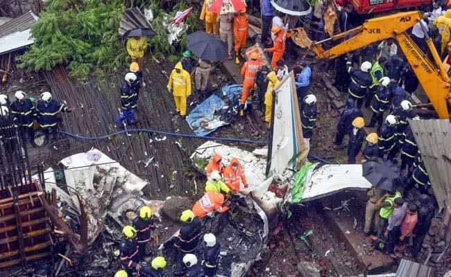 Mumbai Plane Crash Updates: UP Says Plane Sold To Private Company, Black Box Found
