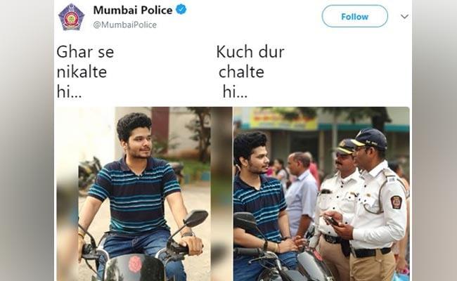 Ghar Se Nikalte Hi Memes: Mumbai Police's Viral Tweet And More