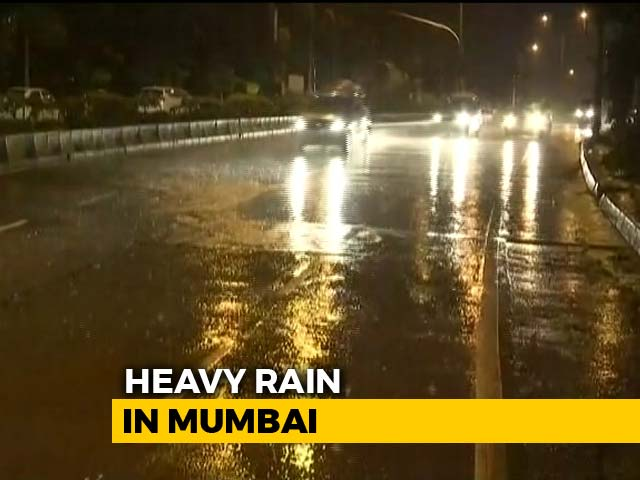 Video : Heavy Rain Lashes Parts Of Maharashtra; No Weekend Off For Officials