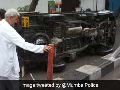 """Don't End Up Like That"", Mumbai Police Cautions After Heavy Rain"