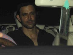 Hrithik Roshan Celebrates Eid With Sussanne's Father Sanjay Khan And His Guests