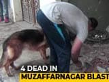 Video : 4 Dead In Explosion At Scrap Dealer's Shop In Western UP's Muzaffarnagar