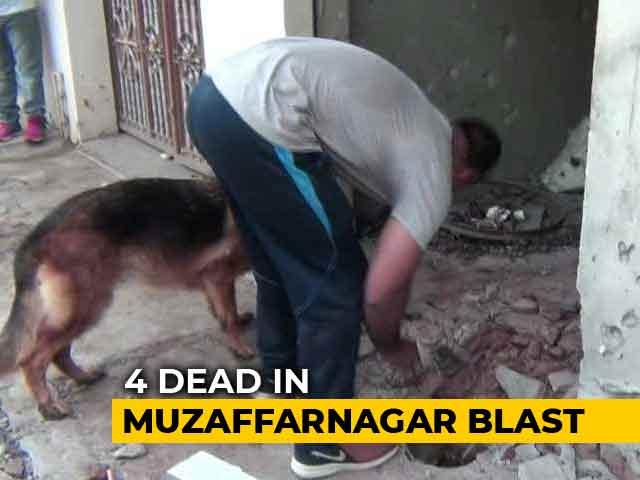 Video : 4 Dead In Explosion At Scrap Dealer's Shop In Western UP's Muzaffarnagar