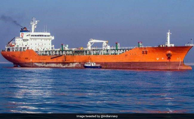 Domestic Merchant Ship Catches Fire In Kochi, Navy Launches Rescue operations
