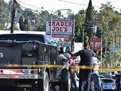 Gunman Barricades Himself At Los Angeles Supermarket, Police At Scene
