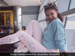 Jacqueline Fernandez Tried To Spook Kartik Aaryan; He Slam Dunked It Back
