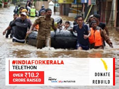 #IndiaForKerala: Over 10.4 Crore Raised By NDTV's 6-Hour Telethon To Help Rehabilitate, Rebuild Villages