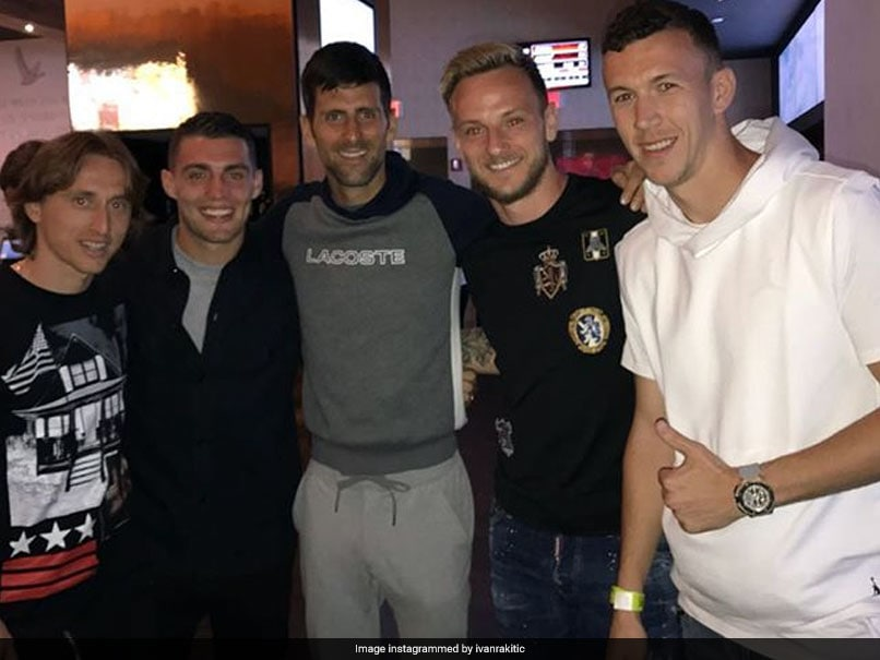 Home Grief For Novak Djokovic For Backing Croatia In World Cup 2018
