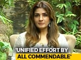 Video : Initiatives To Help Kerala Have Come Out Of People's Homes: Raveena Tandon