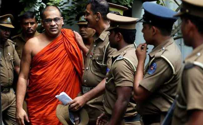 Sri Lankan Buddhist Monk Sentenced Six Years' Jail In Contempt Case
