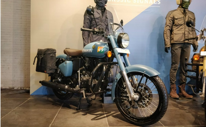 Royal Enfield Classic 350 Signals Edition With ABS Launched