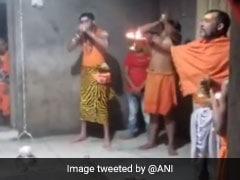 Tej Pratap Yadav's Cosplay As Lord Shiva During Temple Visit. Watch