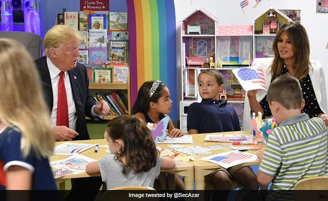 Twitter Trolls Donald Trump For Colouring The American Flag Incorrectly