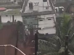 On Video, Dramatic House Collapse After Rain In Karnataka's Kodagu