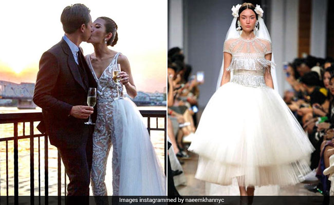These Edgy Naeem Khan Wedding Dresses Are For Unconventional Brides