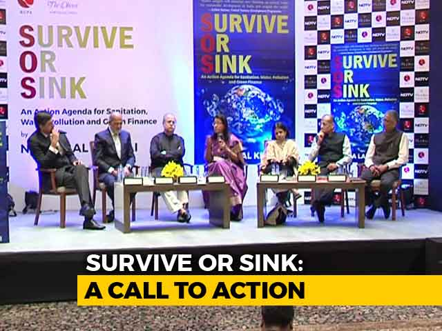 Video : Industry Leaders On India's Twin Challenges: Pollution And Sanitation