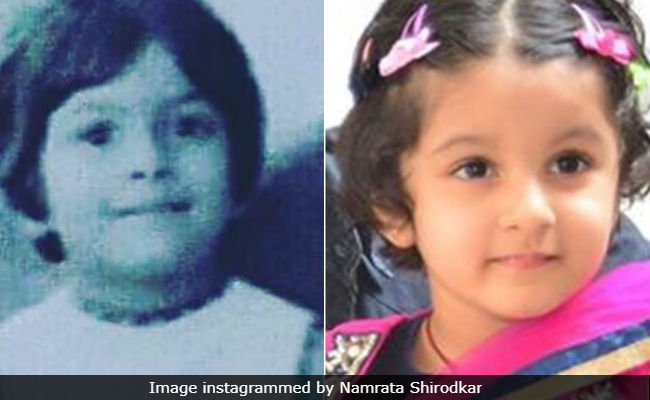 Namrata Shirodkar Shares Pic Of Who She Thinks Daughter Sitara Looks Like (No, Not Mahesh Babu's Mother)