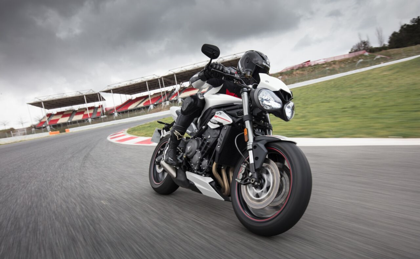 The Street Triple is the third largest selling Triumph bike in India, after the Bonneville & Tiger series