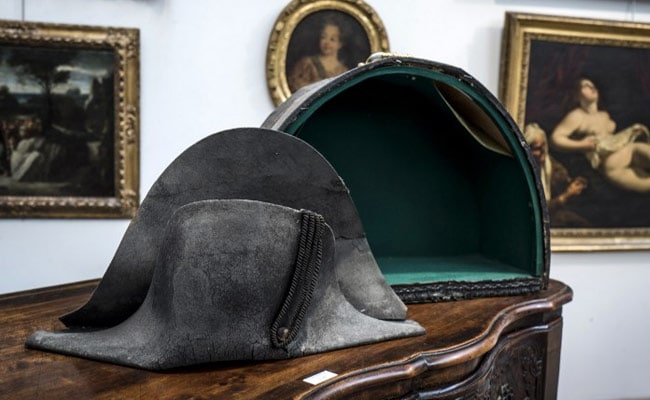bcb1c84febf Is It Napoleon s  Battlefield Hat For Sale In France