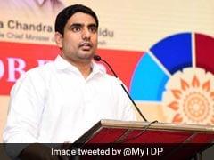 Nara Lokesh Names Father Chandrababu Naidu In Husband Column In Affidavit