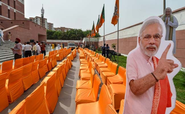 20,000 BJP Workers Get Party Invite For PM Modi's 'Grand Welcome'
