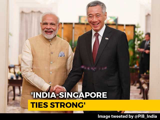 Video : Tackling Terrorism Is Important For India-Singapore Ties, Says PM Narendra Modi