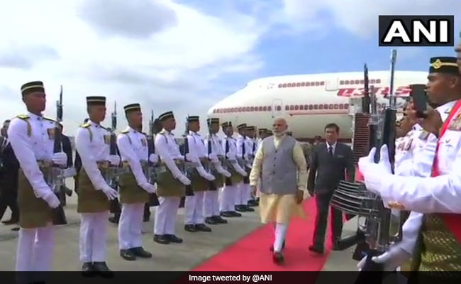 PM Modi Arrives In Malaysia To Meet Newly-Elected Prime Minister Mahathir Mohammad