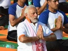 On Yoga Day, PM Calls It