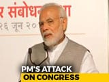 "Video : ""For Congress, Nothing Is Above 'Family',"" Says PM Modi"