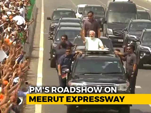 Video : PM Modi Inaugurates Delhi-Meerut Expressway, Holds Road Show