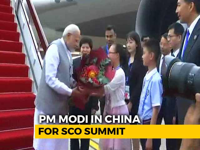 Video : PM Modi Visits China For Second Time In 6 Weeks, Will Meet Xi Jinping Today