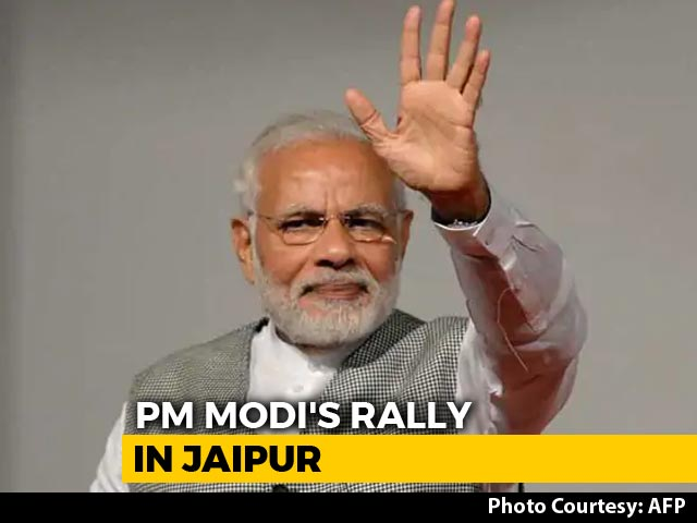 Video : Months Before Rajasthan Polls, PM Modi To Launch 13 Big Projects Today