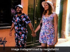 Nargis Fakhri Just Posted A Pic Of Herself Holding Hands With... Not Who You Think