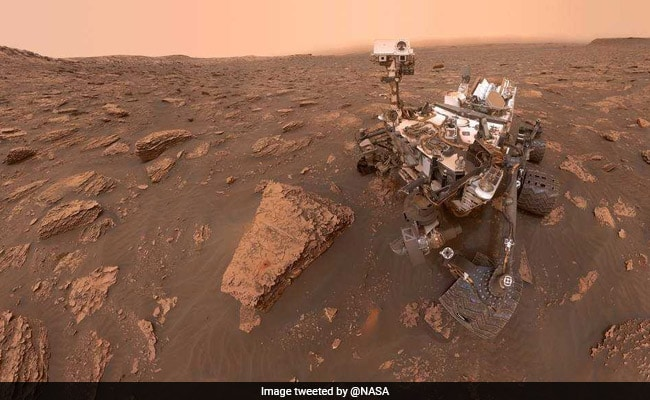NASA's Curiosity Rover Captured Martian Duststorm. Here's How It Looks